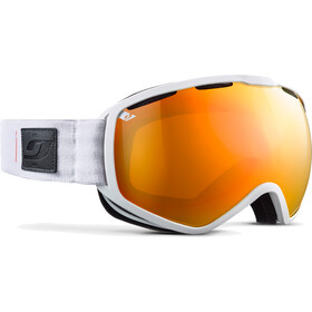 Julbo Atlas Maschera, white-orange/orange/multilayer red